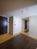 その他共有部:2階以上の内廊下はアクセントのあるフロアとダウンライトで素敵な雰囲気に♪