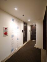 その他共有部:1階はタイル貼り、2階以上は絨毯が敷かれている、高級感のあるホテルライクタイプの共用廊下♪